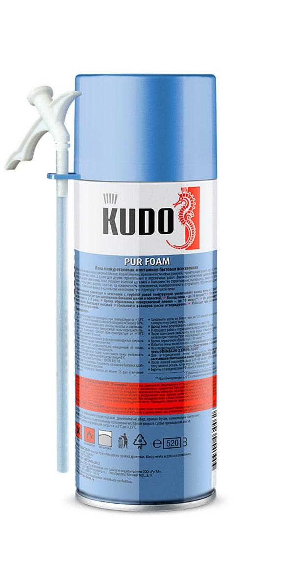Пена монтажная бытовая всесезонная KUDO HOME 15+ - 2