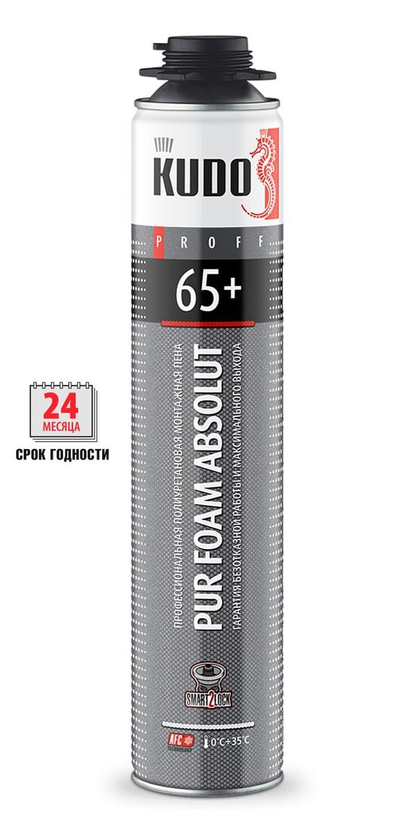 Пена монтажная профессиональная летняя PROFF 65+ Absolut f