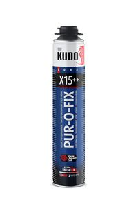 Клей-пена универсальный конструкционный профессиональный всесезонный PUR-O-FIX X15++ EXTRA FIX