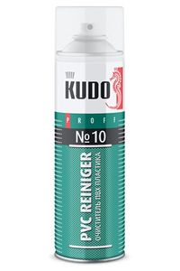 Очиститель пластика ПВХ №10 KUDO PROFF