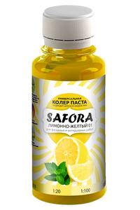 Колер Лимонно-жёлтый Safora