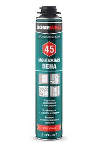 Vesta Company Пена полиуретановая монтажная профессиональная всесезонная DONEWELL 45