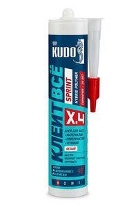 KUDO «КЛЕИТ ВСЁ» SPRINT с высокой скоростью отверждения KX-4W