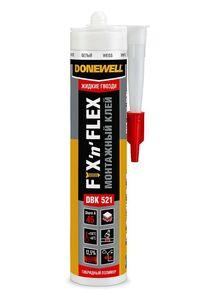 Клей «жидкие гвозди» FIX-N-FLEX DONEWELL DBK 521 и 520