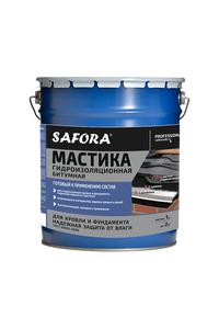 Мастика Safora - Мастика битумная гидроизоляционная