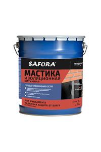 Мастика Safora - Мастика битумная изоляционная