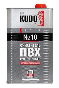 Очиститель ПВХ №10 слаборастворяющий KUDO