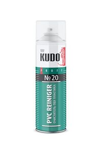 Очиститель пластика ПВХ №20 KUDO PROFF
